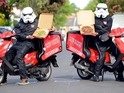 Takeaway company JUST EAT surprise a fan ahead of May the 4th celebrations.