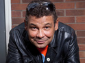 Craig Charles speaks about filming heart attack scenes for Corrie.