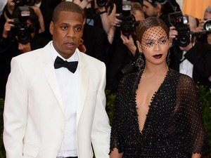 Beyoncé and Jay Z at the 2014 Met Ball