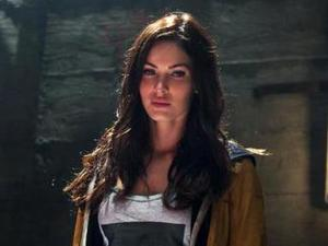 Megan Fox as April O'Neil in Teenage Mutant Ninja Turtles