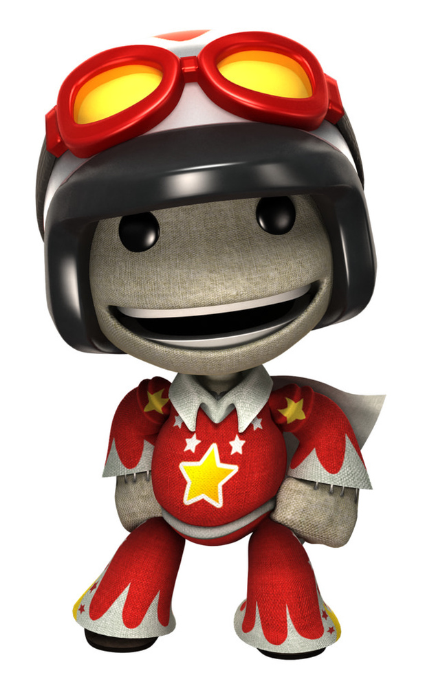 Joe Danger DLC in LittleBigPlanet