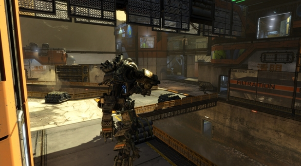 Titanfall's 'Runoff' map