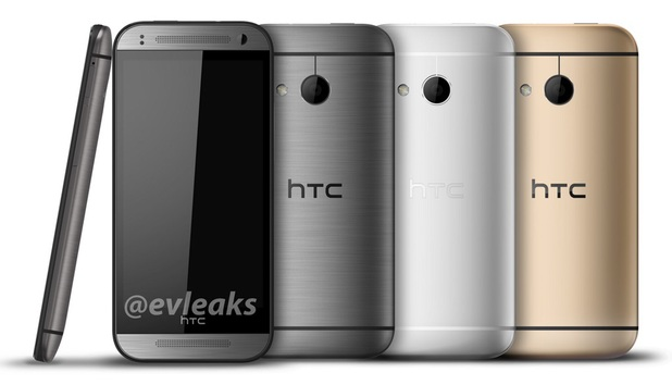Leaked image of the HTC One Mini 2