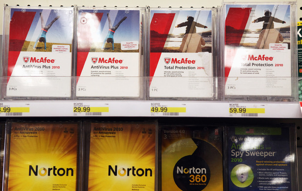 McAfee and Norton Antivirus