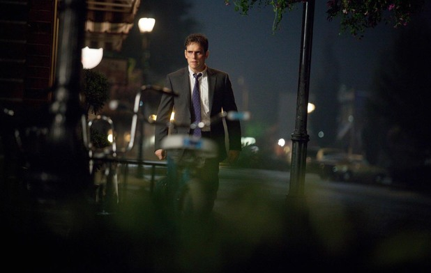 Matt Dillon as Secret Service Agent Ethan Burke in Wayward Pines