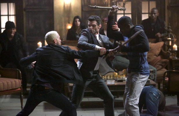 Daniel Gillies as Elijah in The Originals S01E21: 'The Battle of New Orleans'