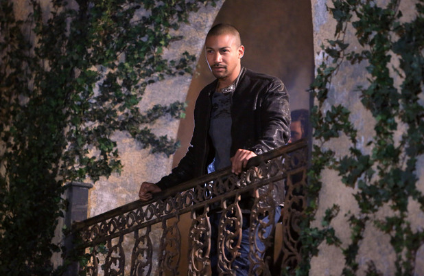 Charles Michael Davis as Marcel in The Originals S01E21: 'The Battle of New Orleans'