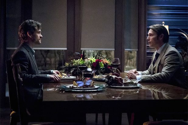Will and Hannibal in season 2 episode 11 'Kō No Mono'