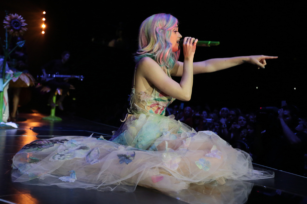 Katy Perry performs at The Odyssey Arena in Belfast