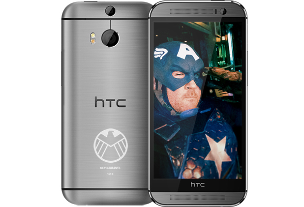 HTC One (M8) limited edition Captain America S.H.I.E.L.D.