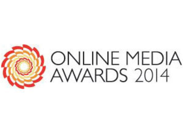 Online Media Awards 2014 logo