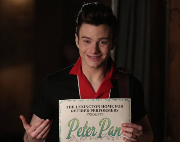 Chris Colfer as Kurt in Glee S05E19: 'Old Dog New Tricks'