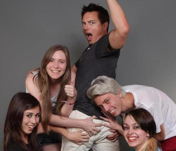 John Barrowman's fan photo