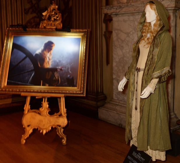 A general view at the private reception as costumes and props from Disney's 'Maleficent' are exhibited in support of Great Ormond Street Hospital at Kensington Palace
