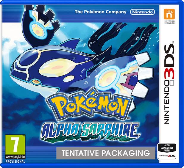 Pokemon Alpha Sapphire pack shot