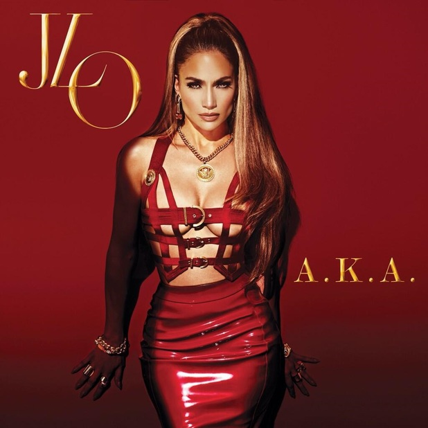 Jennifer Lopez AKA album cover