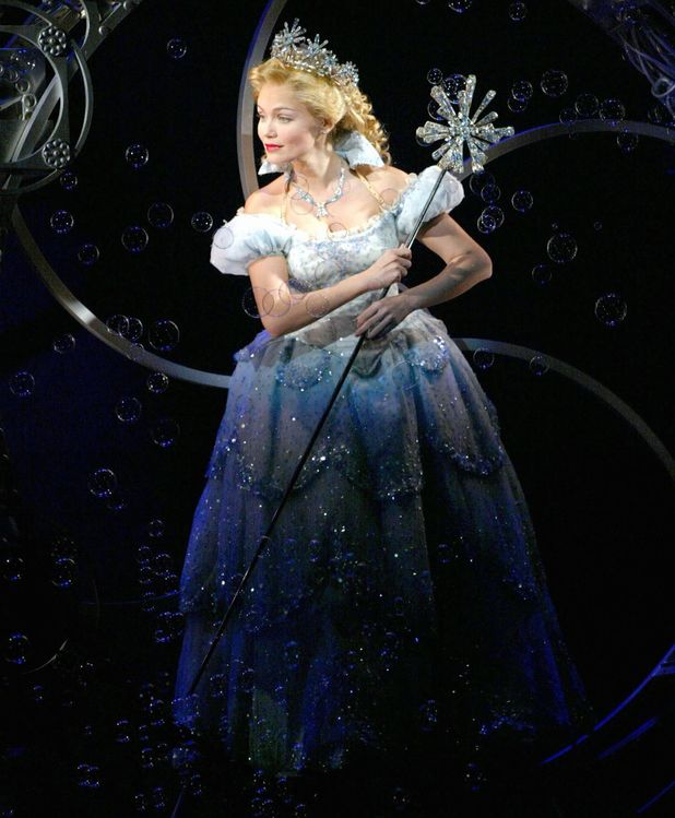 Kristin Chenoweth as Glinda in Wicked