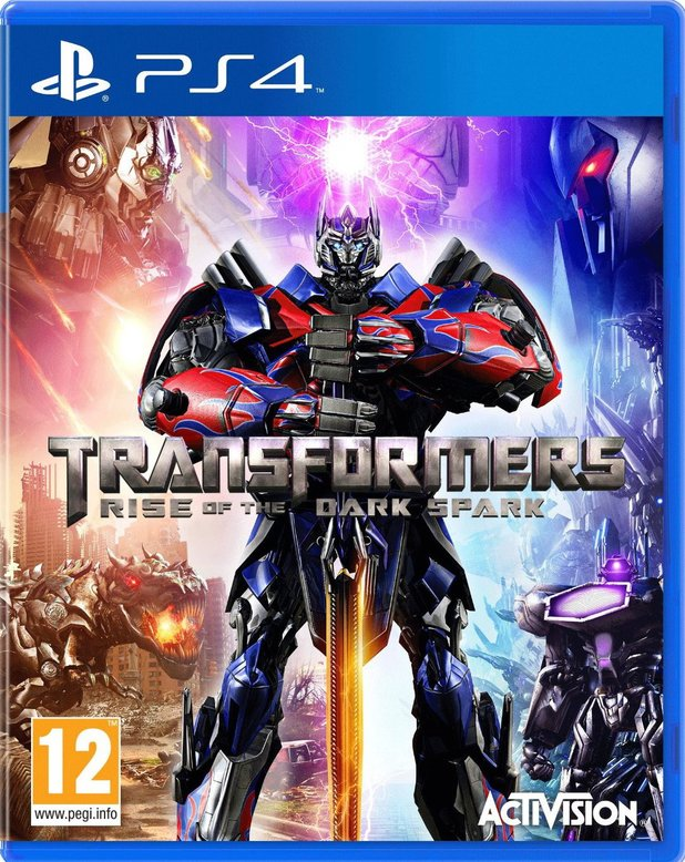 Transformers: Rise of the Dark Spark PS4 cover art
