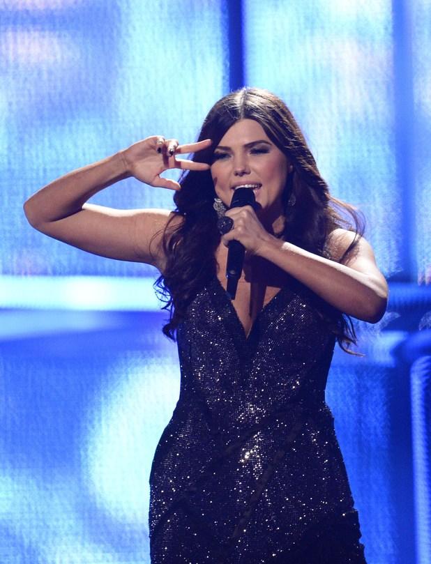 Paula Seling representing Romania