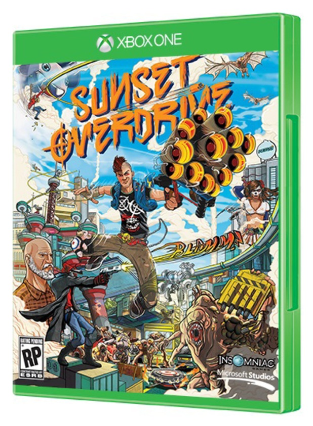 Sunset Overdrive box artwork