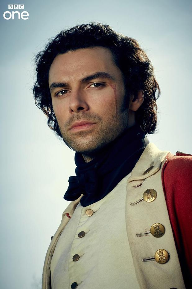 Aidan Turner as Ross in the BBC adaptation of Poldark