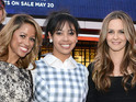 Silverstone made a rare appearance with co-stars Stacey Dash and Elisa Donovan.