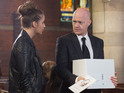 Max will be confronted by Ian at Lucy's funeral.