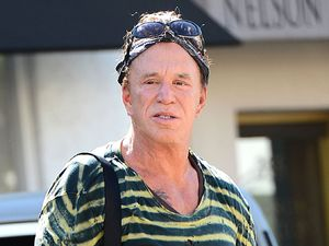 Mickey Rourke out and about in Los Angeles, America - 13 May 2014 Mickey Rourke 13 May 2014