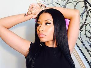 Nicki Minaj press shot 2014.