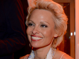 Pamela Anderson at the Pamela Anderson Foundation launch event at Cannes