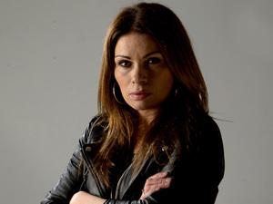 Alison King as Carla Barlow in Coronation Street