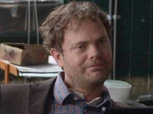 Rainn Wilson stars as Detective Everett Backstrom in Backstrom