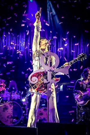Prince live at Birmingham's LG Arena.