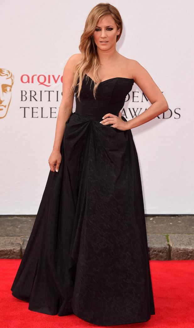 BAFTA Television awards 2014: Caroline Flack