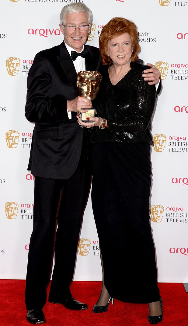 BAFTA Television awards 2014: Cilla Black and Paul O'Grady