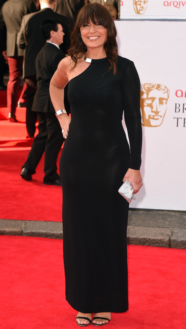 BAFTA Television awards 2014: Davina McCall