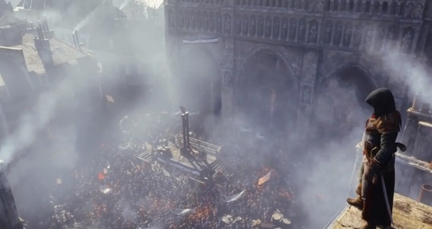 Assassin's Creed Unity first screenshot