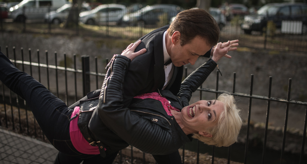 Anton Du Beke makes a special appearance in Doctors