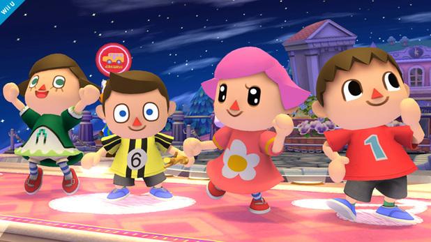 Super Smash Bros gets female villager
