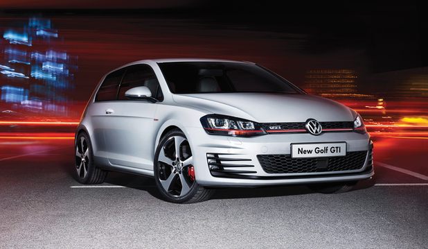 VW Golf GTi tech