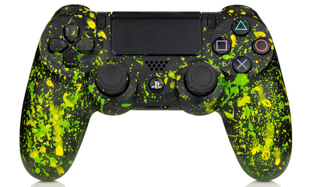 2014 FIFA World Cup Brazil branded PS4 controllers