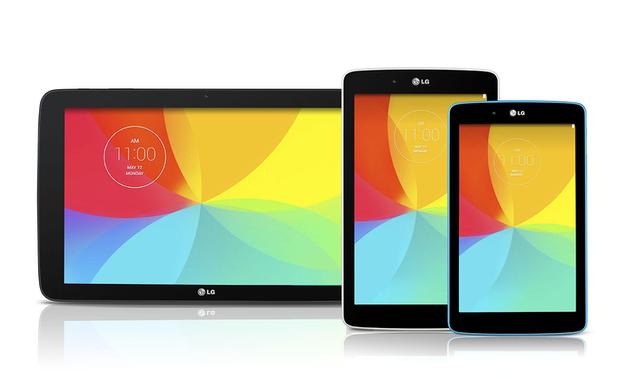 LG's G Pad 7.0, G Pad 8.0 and G Pad 10.1