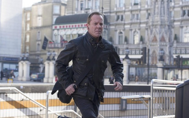 Kiefer Sutherland as Jack Bauer in 24: Live Another Day episode 3: '1:00PM - 2:00PM'