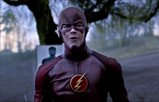 Grant Gustin in The Flash teaser