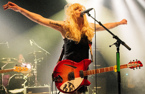 Courtney Love performs live on stage at Shepherds Bush Empire on May 11