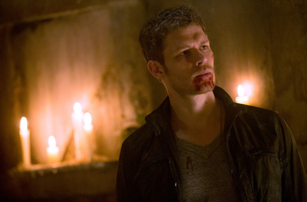 Joseph Morgan as Klaus in The Originals S01E22: 'From A Cradle to a Grave'