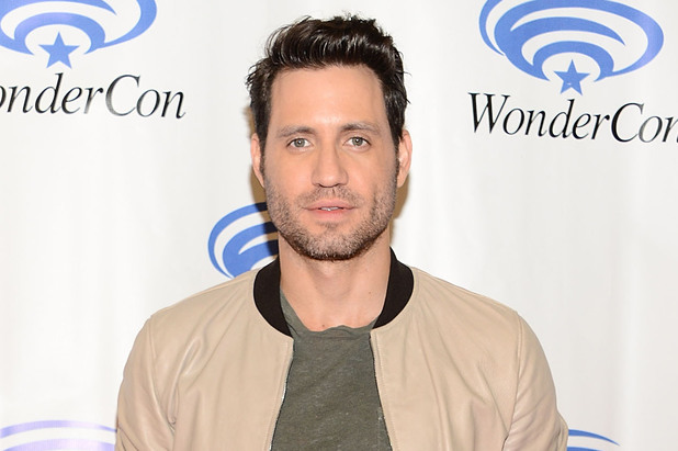 Edgar Ramirez attends the Sony Pictures' 'Deliver Us From Evil' Cast & Filmmakers press line at Wondercon