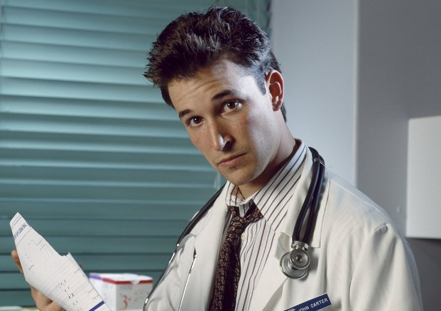 Noah Wyle as John Carter in ER