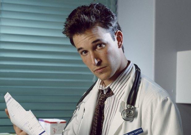 Noah Wyle as John Carter in ER