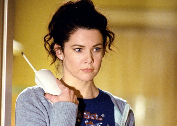 Lauren Graham as Lorelai in Gilmore Girls